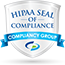 HIPAA Seal of Compliance - Compliancy Group