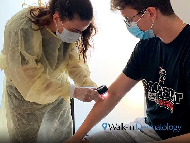 Full Body Skin Exam at Walk-in Dermatology