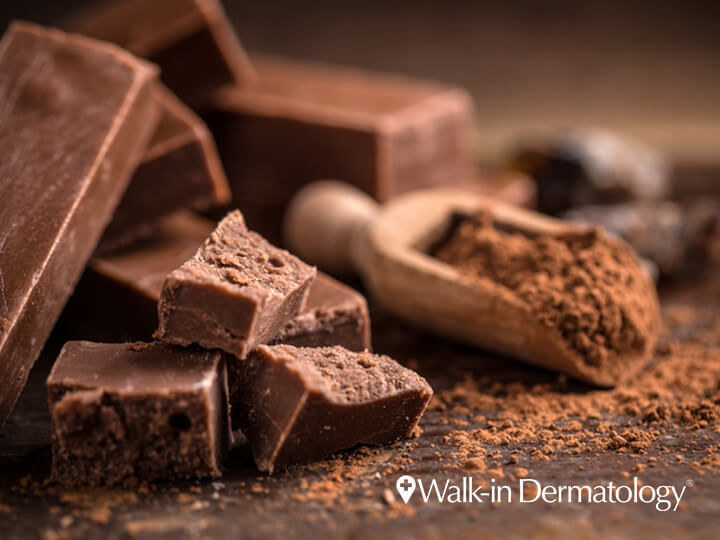 Is Chocolate Really Bad for Your Skin?