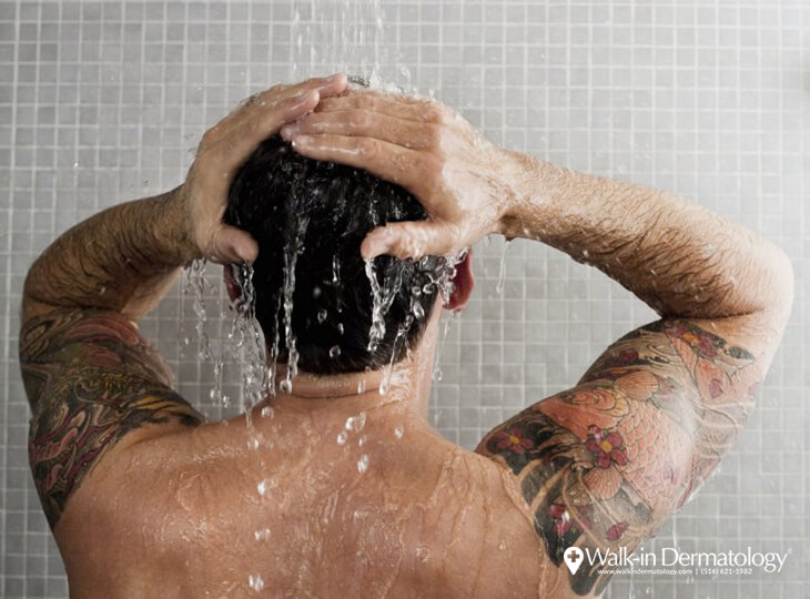 Showering in the Summer and Winter